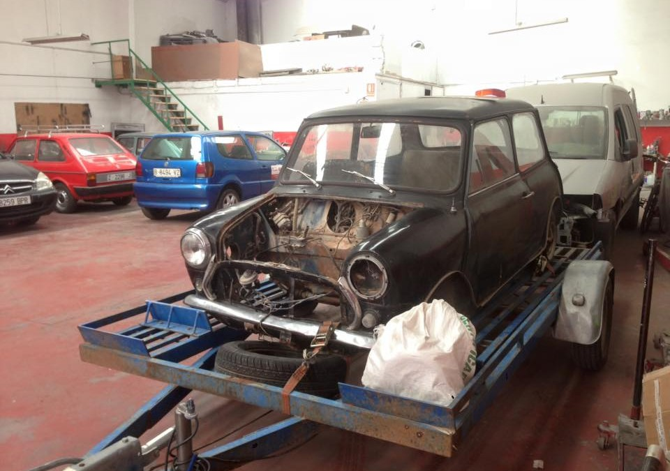 Restauración Austin Mini 850