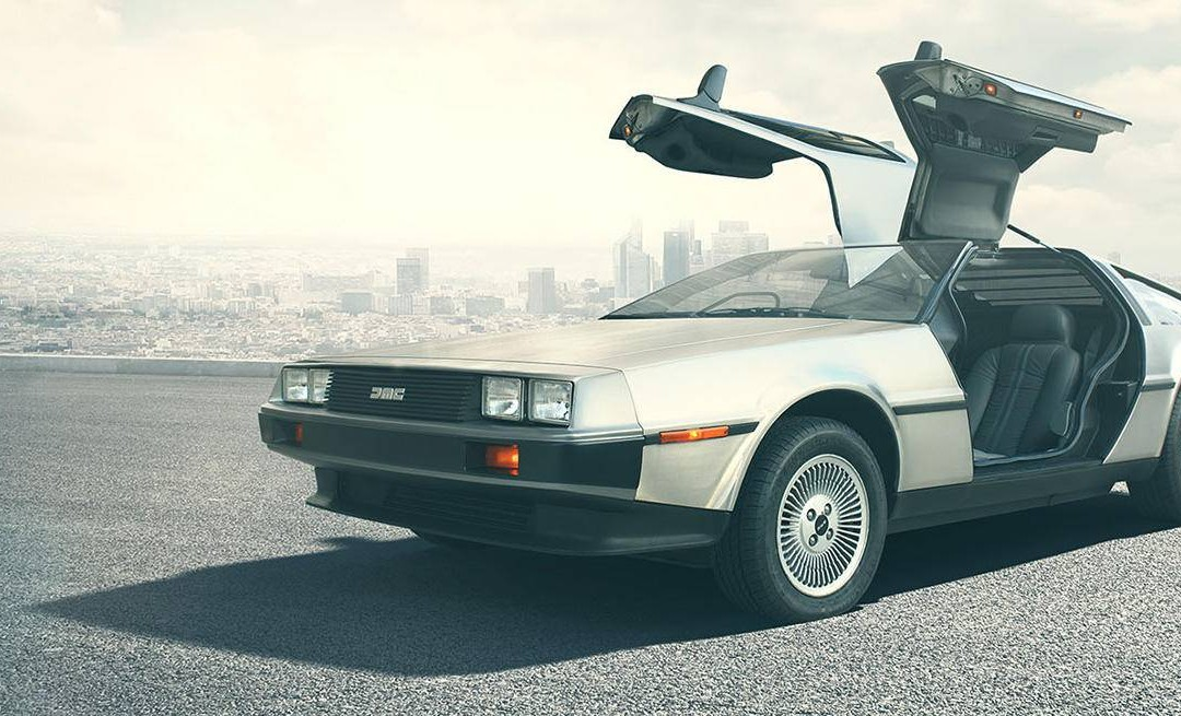 Regresa el DeLorean, Back to the Future!